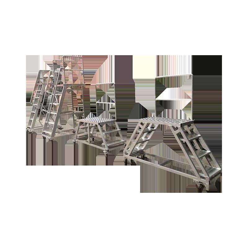 焊接工作平台梯